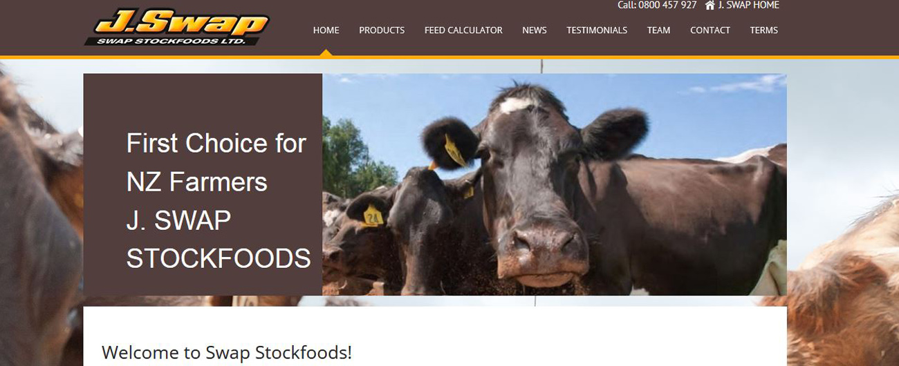 Website – Swap Stockfoods
