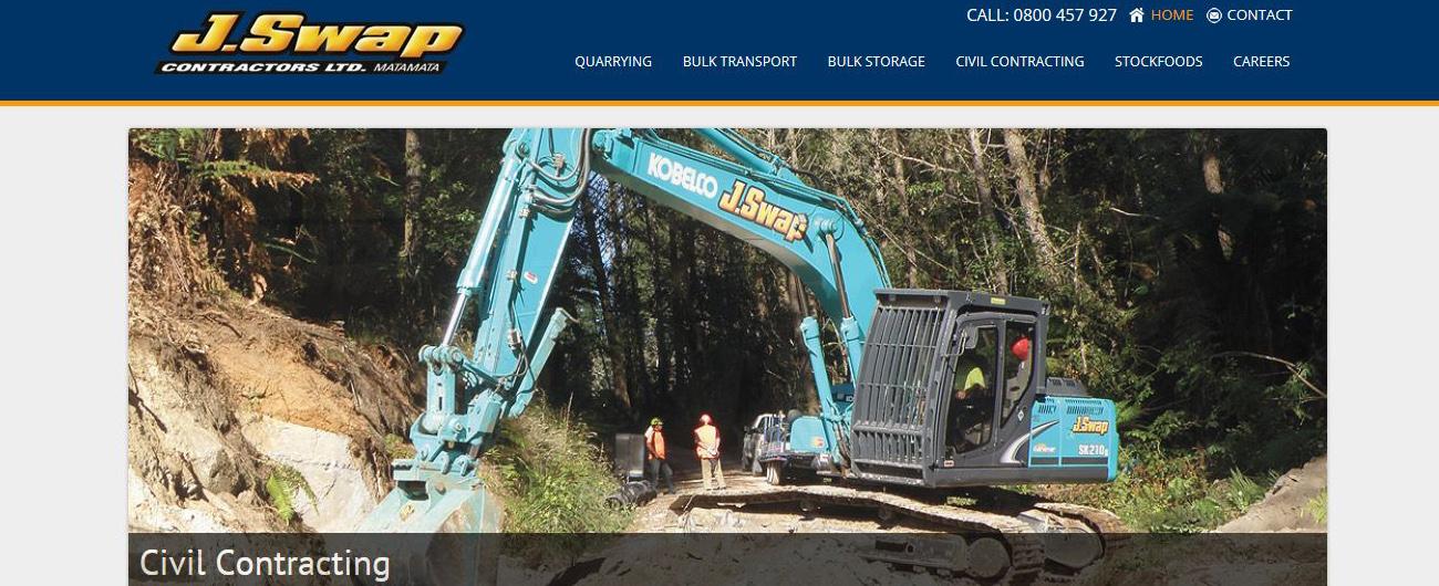 Website – J Swap Contractors